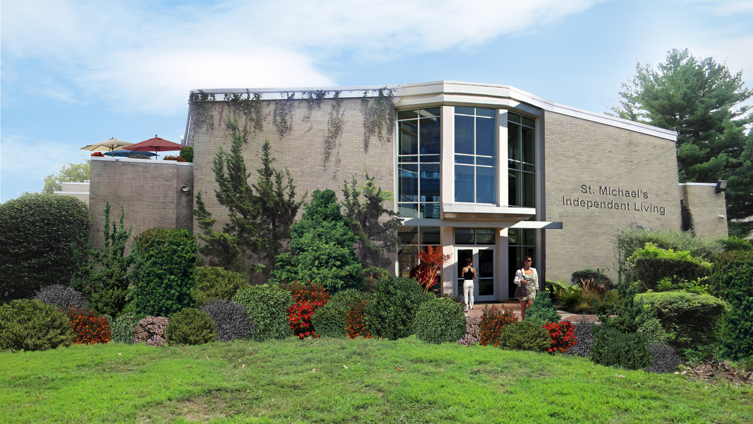 Uniondale Entrance