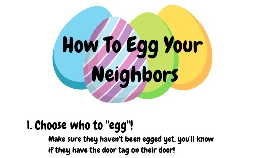 "Click to download the ""egging"" instructions!"
