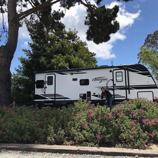 Had a few days off to visit the @kampgroundsofamerica in Watsonville, Hike to a fantastic view, and see some fish at the @montereybayaquarium  Fun few days off! #austinvegans #veganaf #vegan #koa #watsonvilleca #hike #montereybayaquarium #rvlife #rvliving #atxvegans #whatvegansdo #californiavegan #liveyourcircusdream