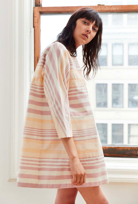 MARA HOFFMAN: RESORT 2017   Technique  •  Dobby Weave  //    Provenance  •  India  //    Material  •  Organic Cotton