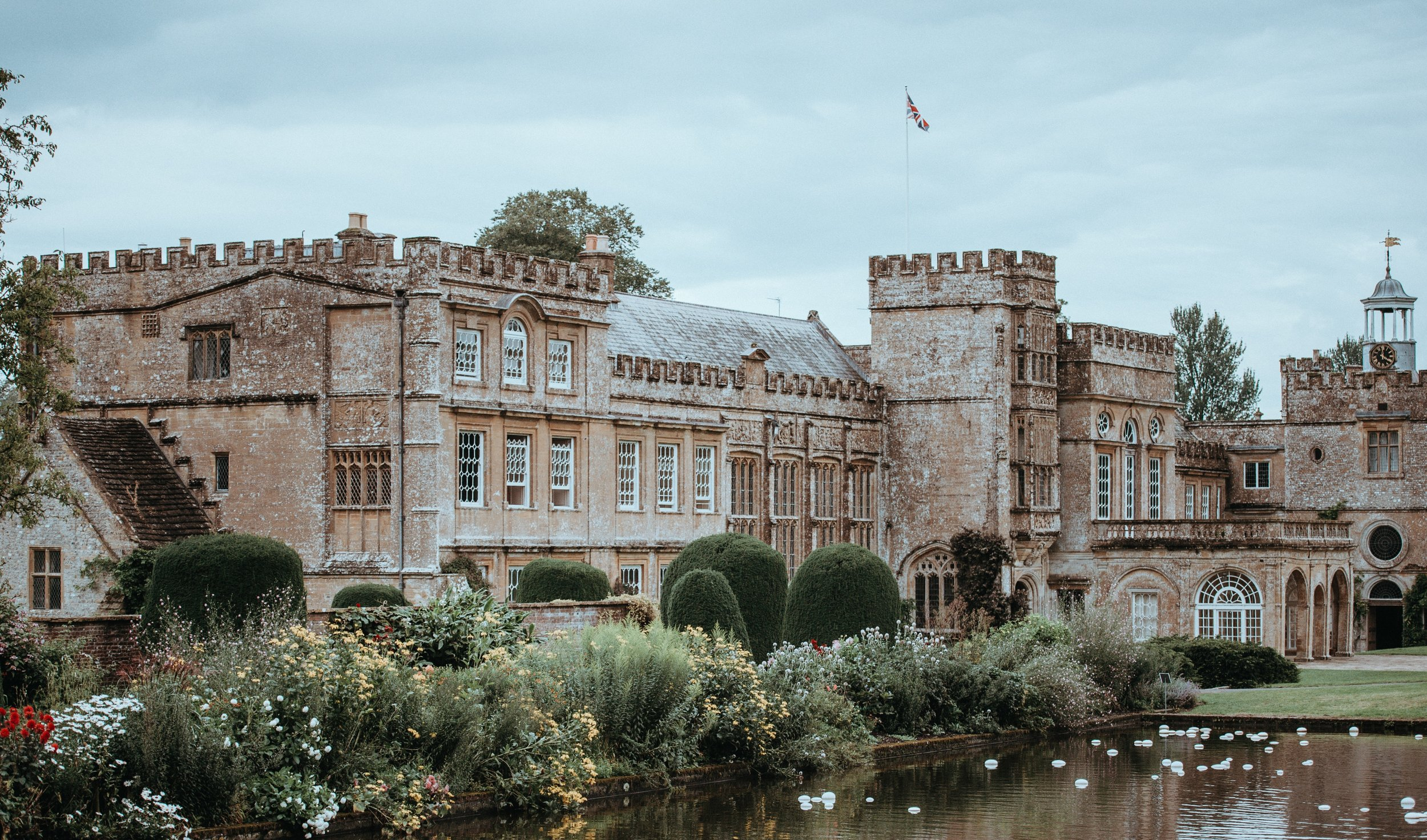 Forde Abbey looking resplendent