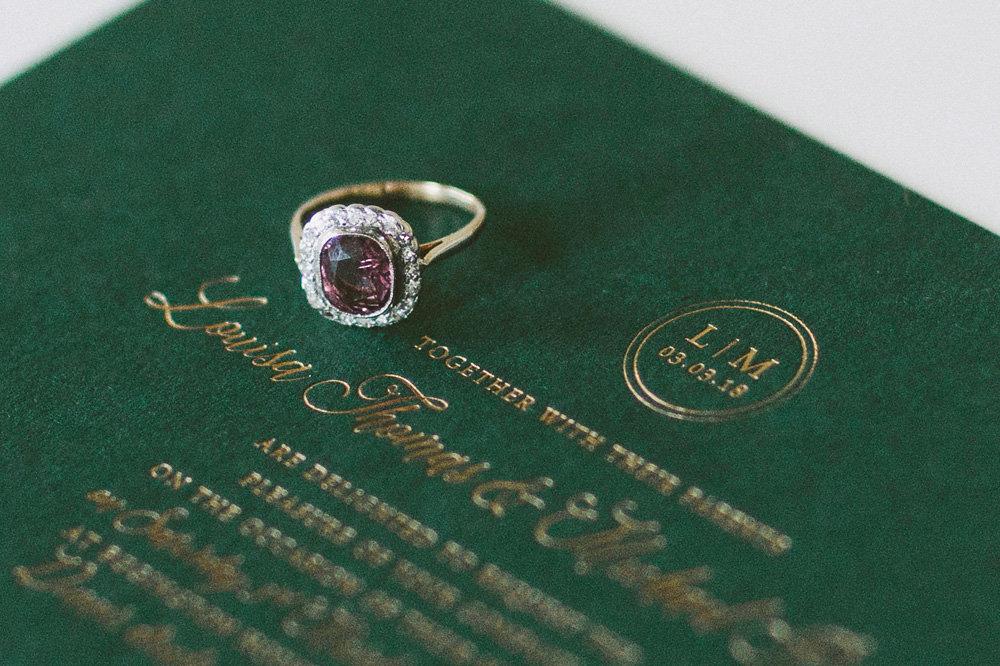 antique-pink-spinel-engagement-ring