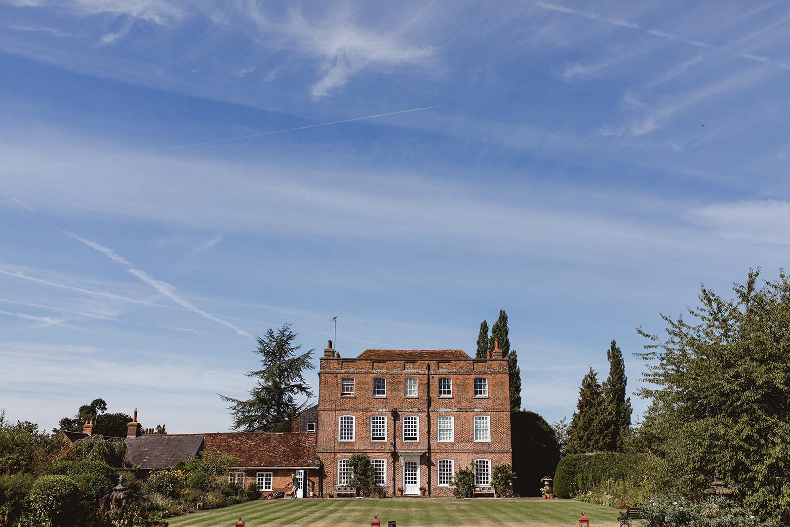 Eggington House marquee wedding_venue