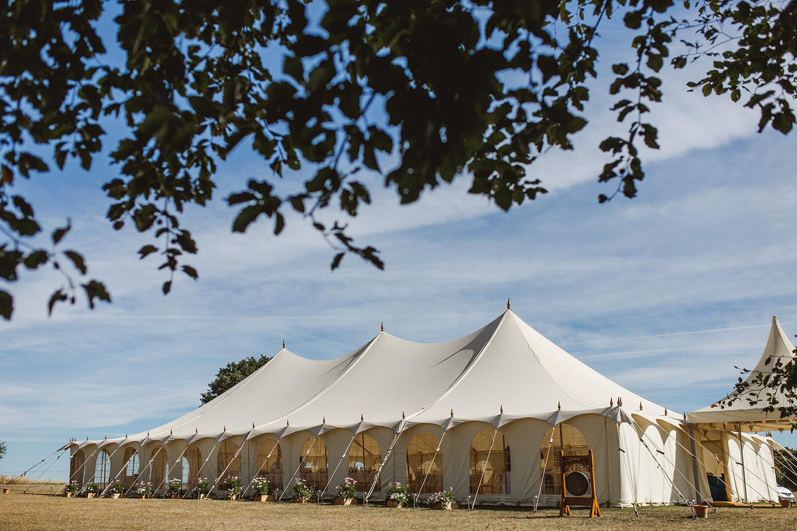 Eggington House marquee wedding_marquee