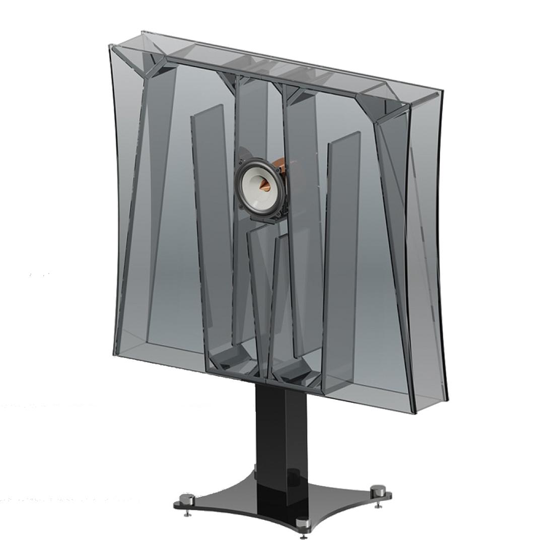 一个ingenius折叠号角以爆炸性的动态将音乐发射到房间。 - 整体47英寸(120厘米)的机柜宽度可实现非凡的低音响应,而中高频率则可以再现如丝般光滑,透明,开放和细节丰富。