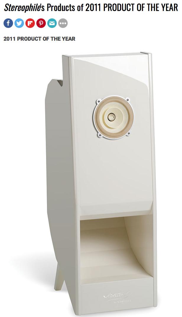 """2008年,我们向世界推出了Ampeggio - 一款全频,单驱动扬声器,挑战了所有期望。 - 在世界各地成功举办多场演出后, Stereophile杂志将Ampeggio授予2011 年度""""年度产品""""。通过这次,新的观众有机会体验完整的Voxativ扬声器设计,将我们创新的全方位驱动器工程与革命性的新声学调谐柜。无需不必要的电子交叉系统的全频音乐再现永远被改写了。"""