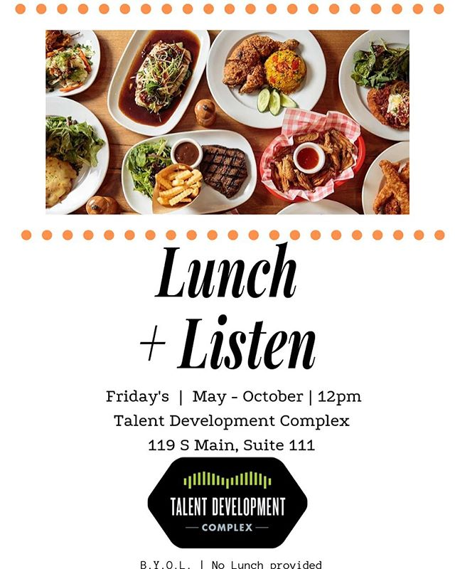 Please join us at the Talent Development Complex Friday, May 24, 2019 from 12:00 p.m. - 1:00 p.m. as we hear The PRVLG for Lunch & Listen!!