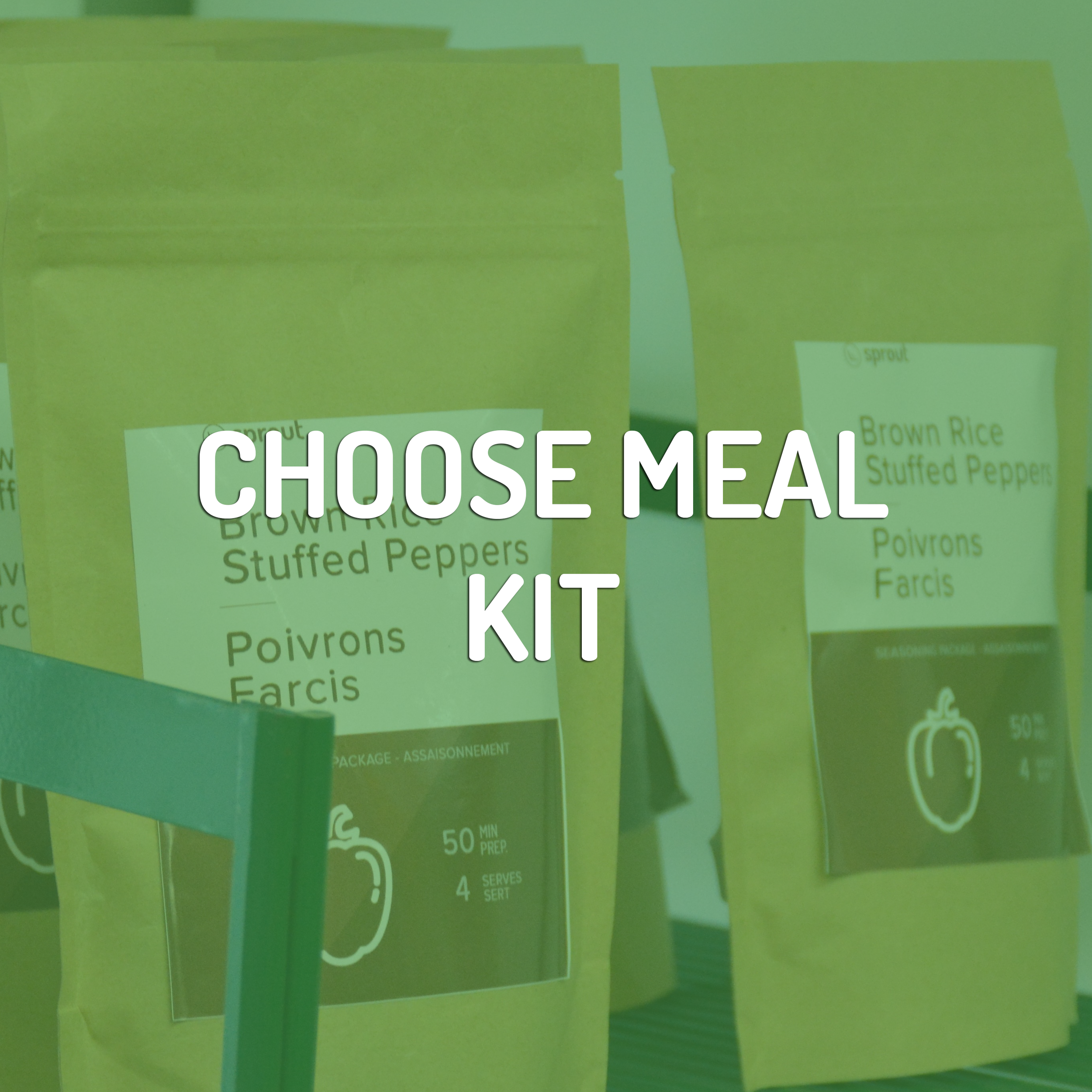 Sprout Meal Kits have all the dry ingredients necessary to make a tasty meal.