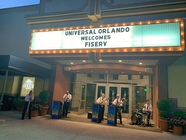 Fiserv Credit Union Experience: Client appreciation Event at Universal Studios