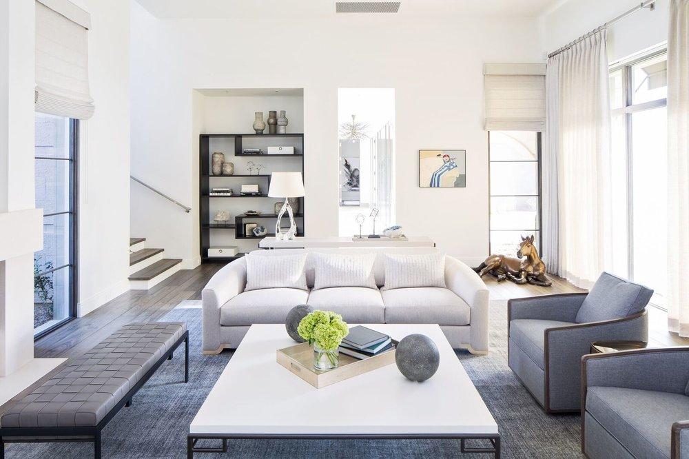 Modern Luxury Arcadia Design Group, Modern Furniture Scottsdale Az