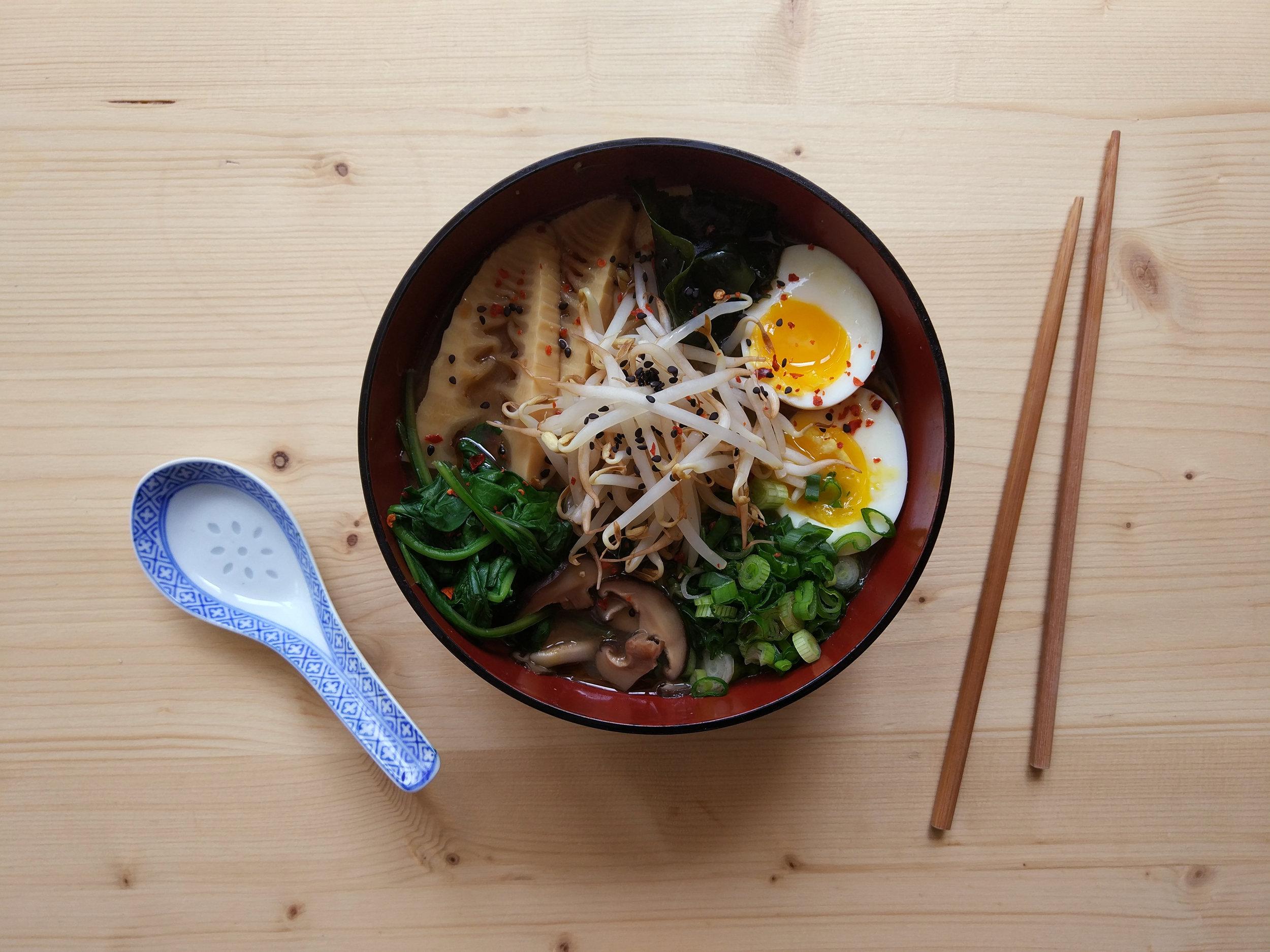 Ramen recipe. Click  here  for more info