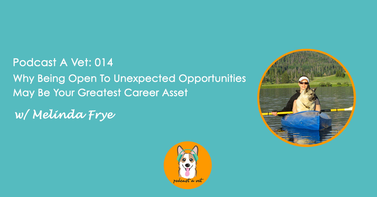 014: Why Being Open To Unexpected Opportunities May Be Your Greatest
