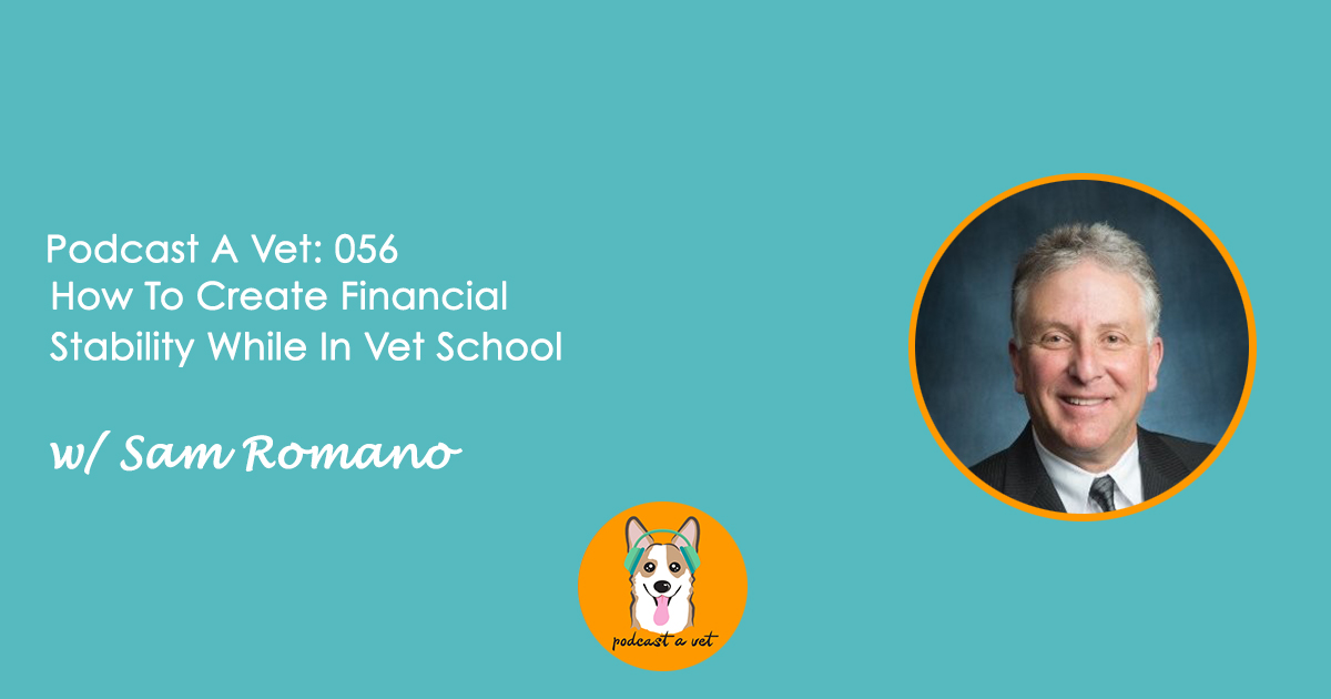 056: How To Create Financial Stability While In Vet School w/ Sam Romano