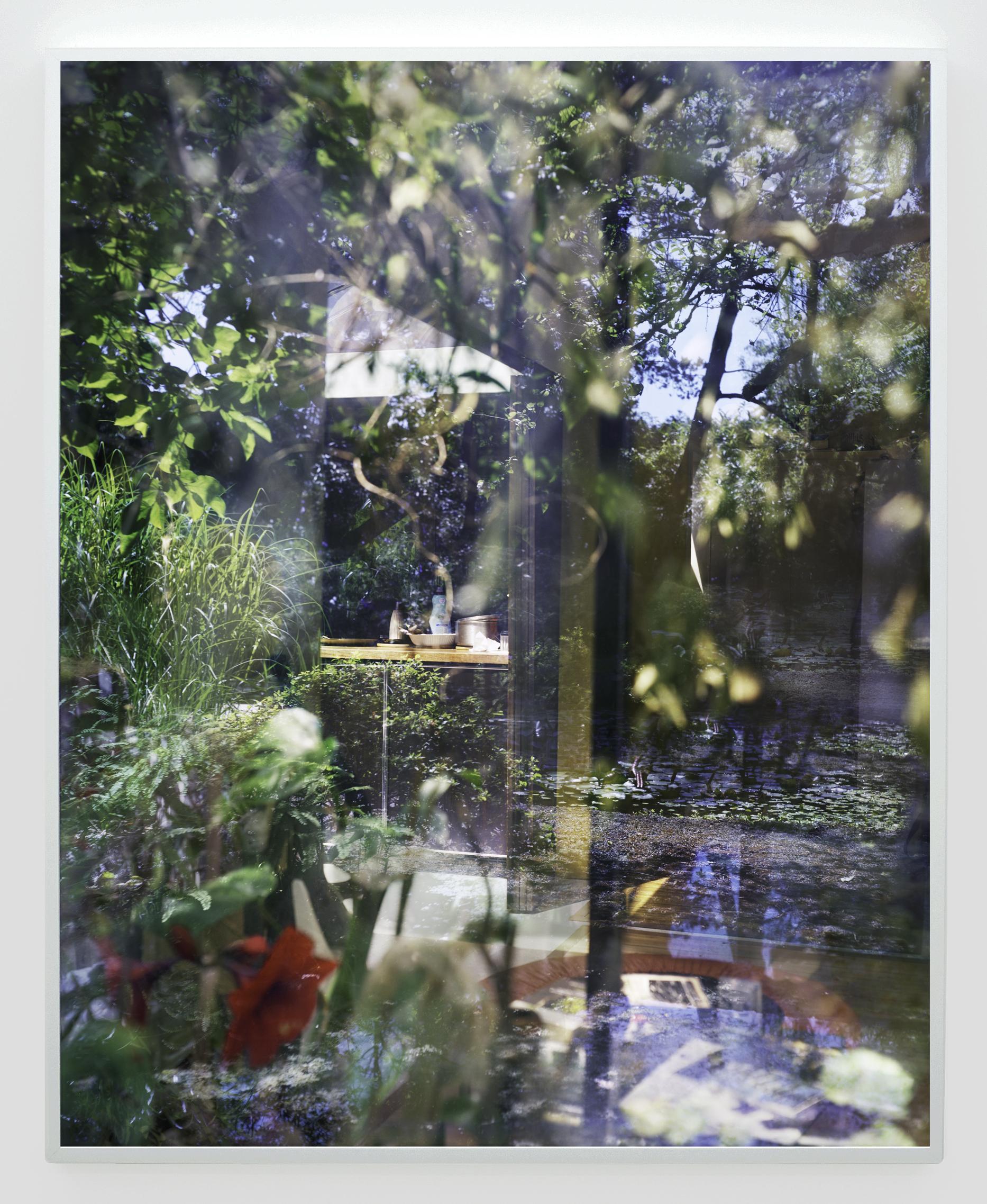 "Lorna Bauer,  Cobblestone Gardens #4 (after Arthur Erickson) , Edition of 3 + 1 AP, 2016, inkjet print, 50"" x 40"" (127 x 102 cm)"