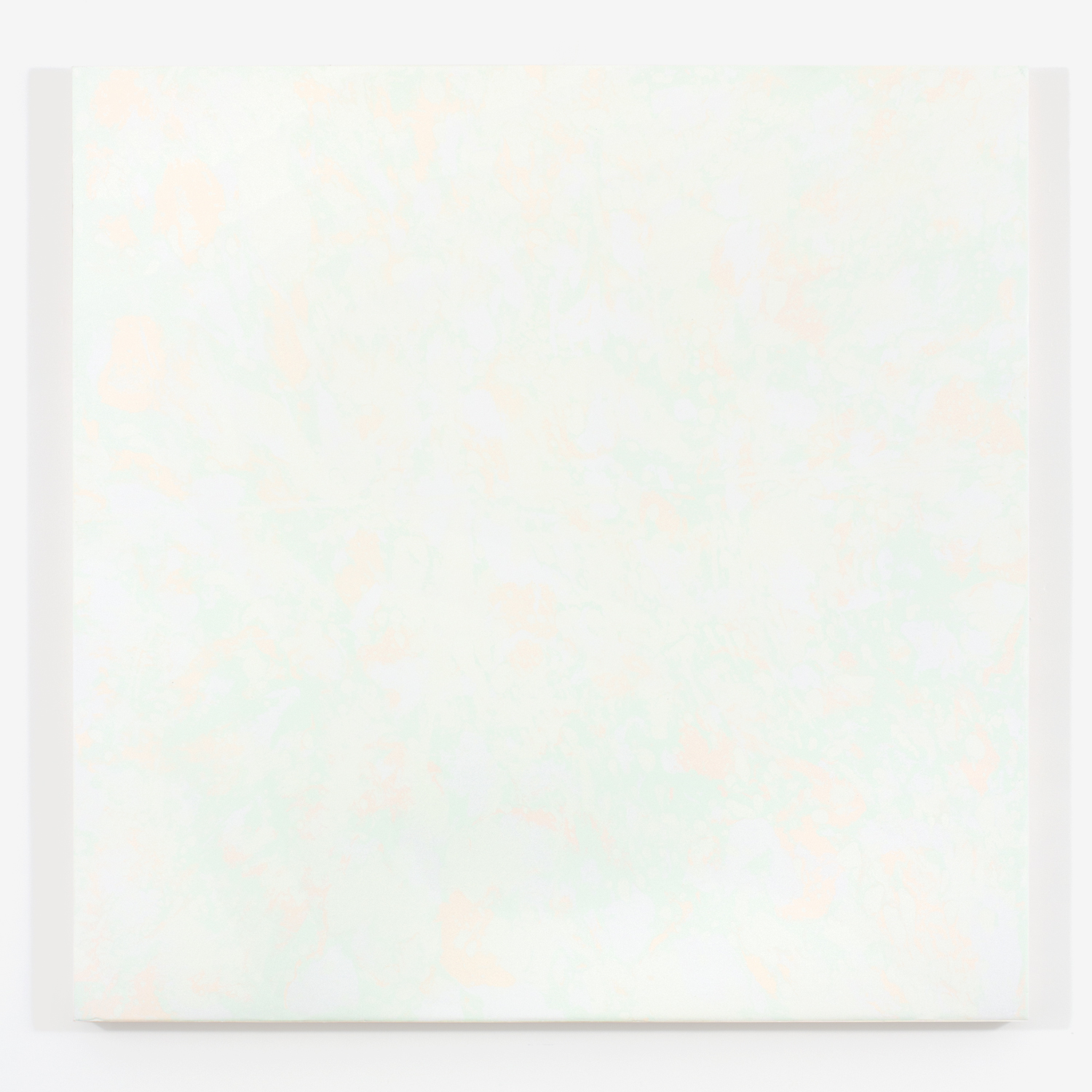 """Pierre Julien,  Gathering of the Clouds 1 , 2015, plaster and acrylic on wood panel,48"""" x 48"""" (122 x 122 cm)."""