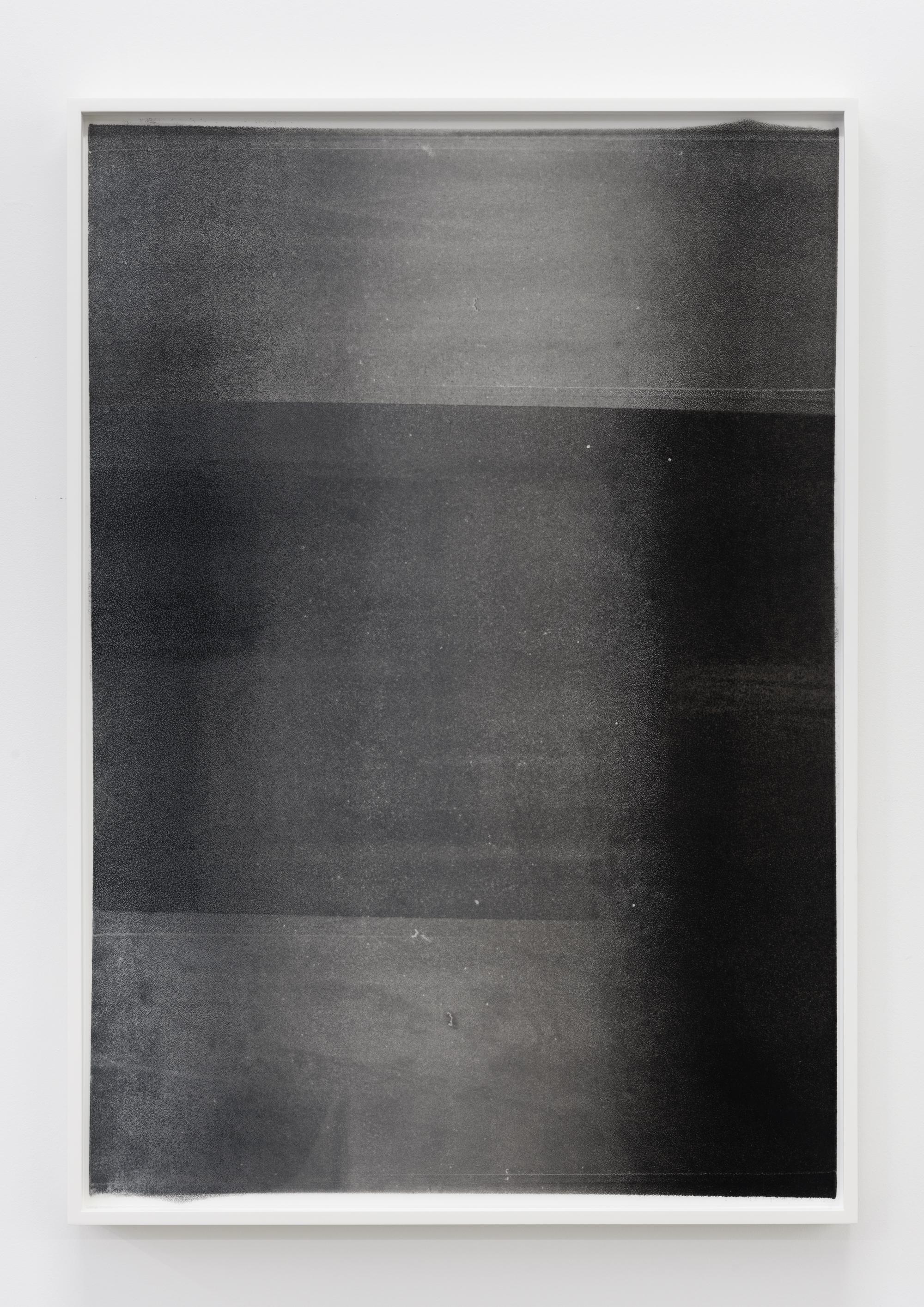 """Jim Verburg,  Untitled (Dark Glow) , 2016, oil on mylar, 31"""" x 22"""" (76 x 54 cm)"""
