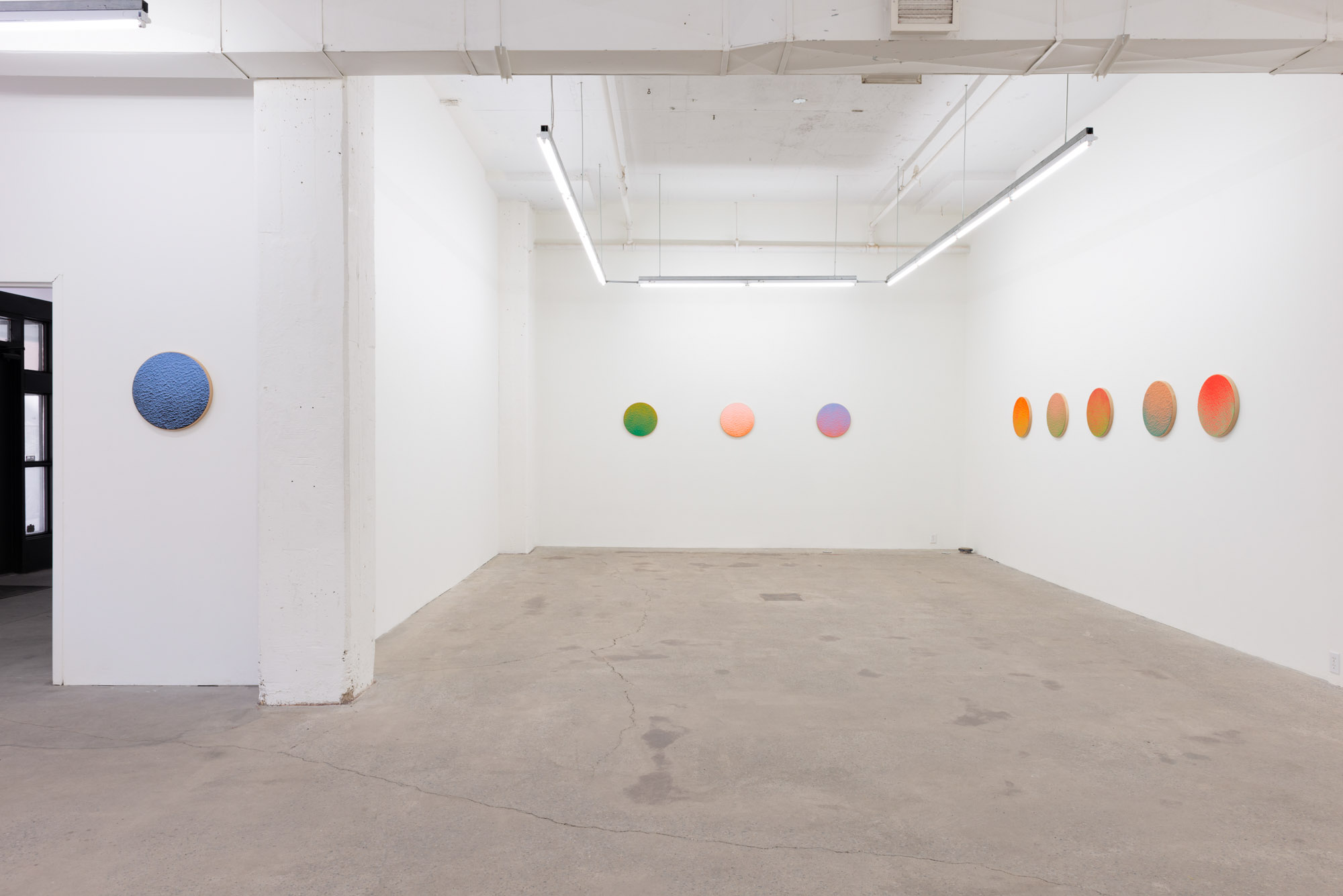 Pierre Julien,  In the Deepest Oceans , 2018, exhibition view, Galerie Nicolas Robert, photo : Jean-Michael Seminaro