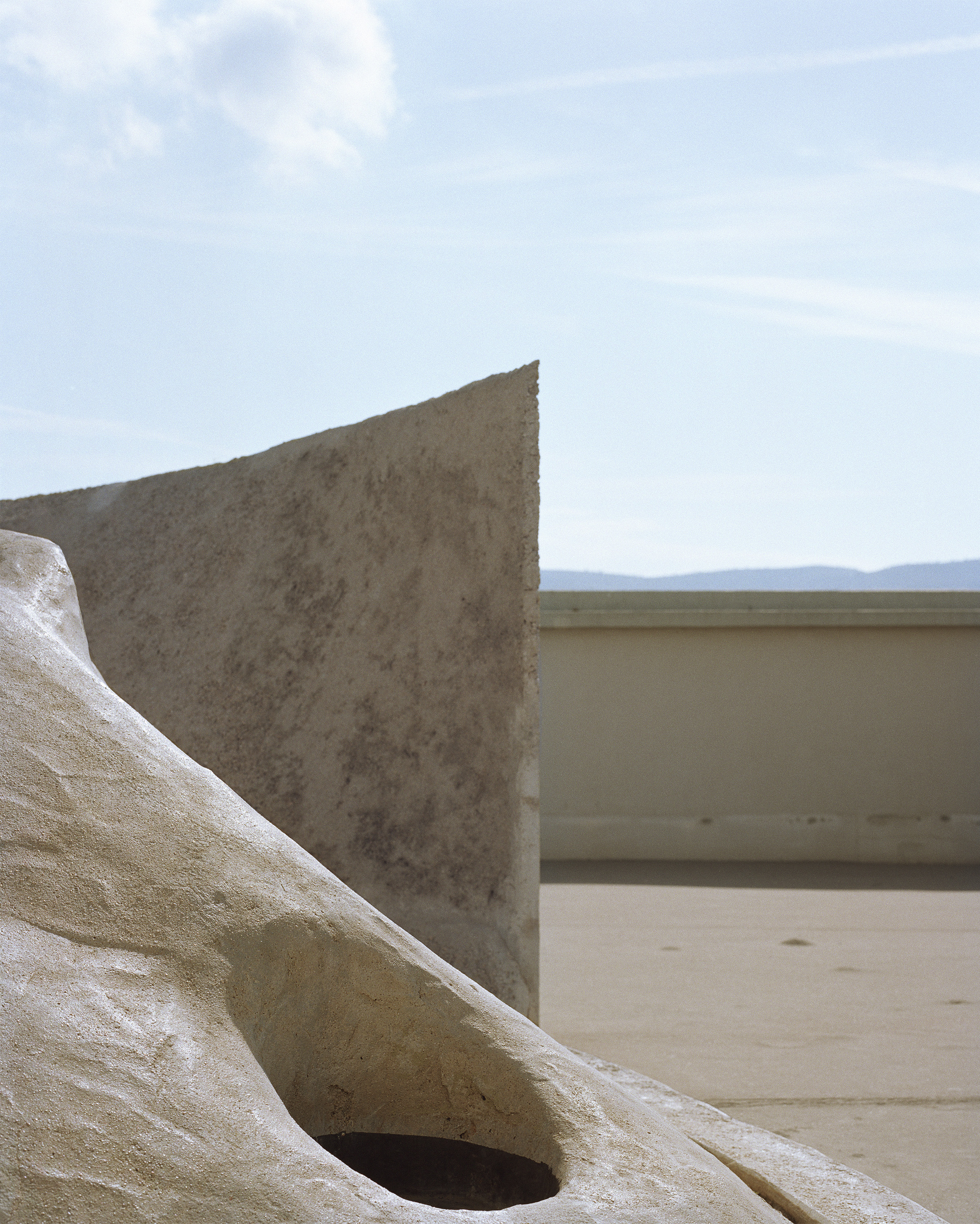 """Lorna Bauer,  Unité d'habitation #1 , 2018, pigment print, 50"""" x 40"""" (127 x 102 cm)"""