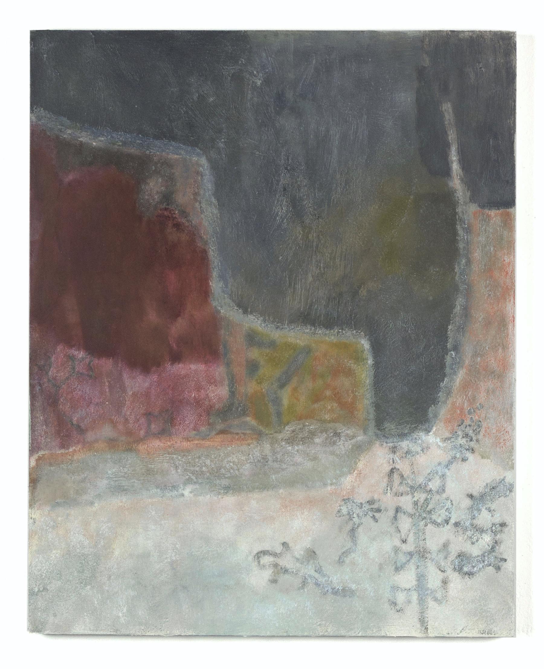 "Laurence Pilon,  Sleepwalk , 2018, oil on panel, 20"" x 16"" (51 x 41 cm)"
