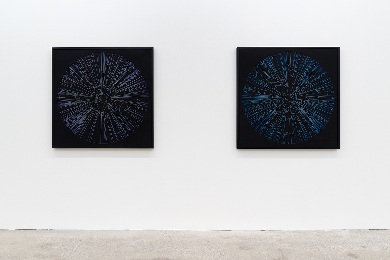 Ciel , 2019, exhibition view, Galerie Nicolas Robert, photo : Jean-Michael Seminaro