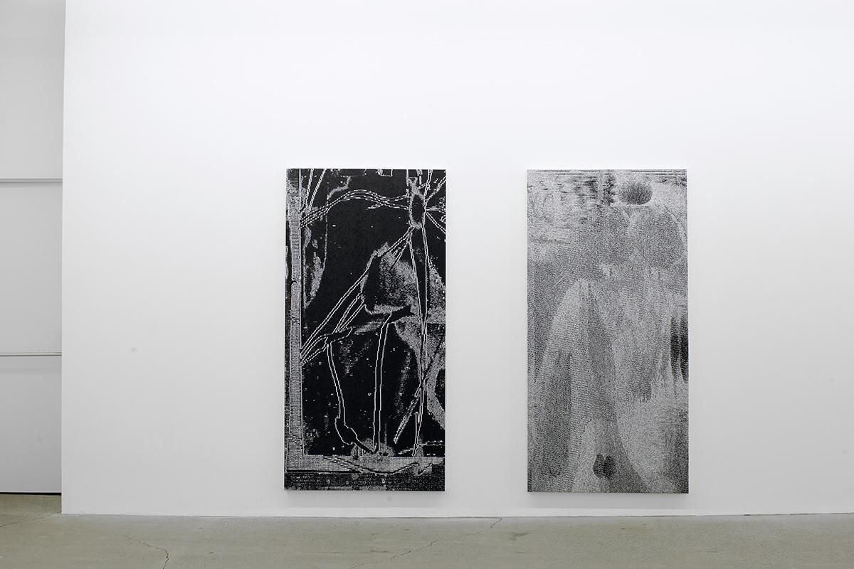 Jérôme Nadeau,  Poor Healer , 2019, exhibition view, Galerie Nicolas Robert.