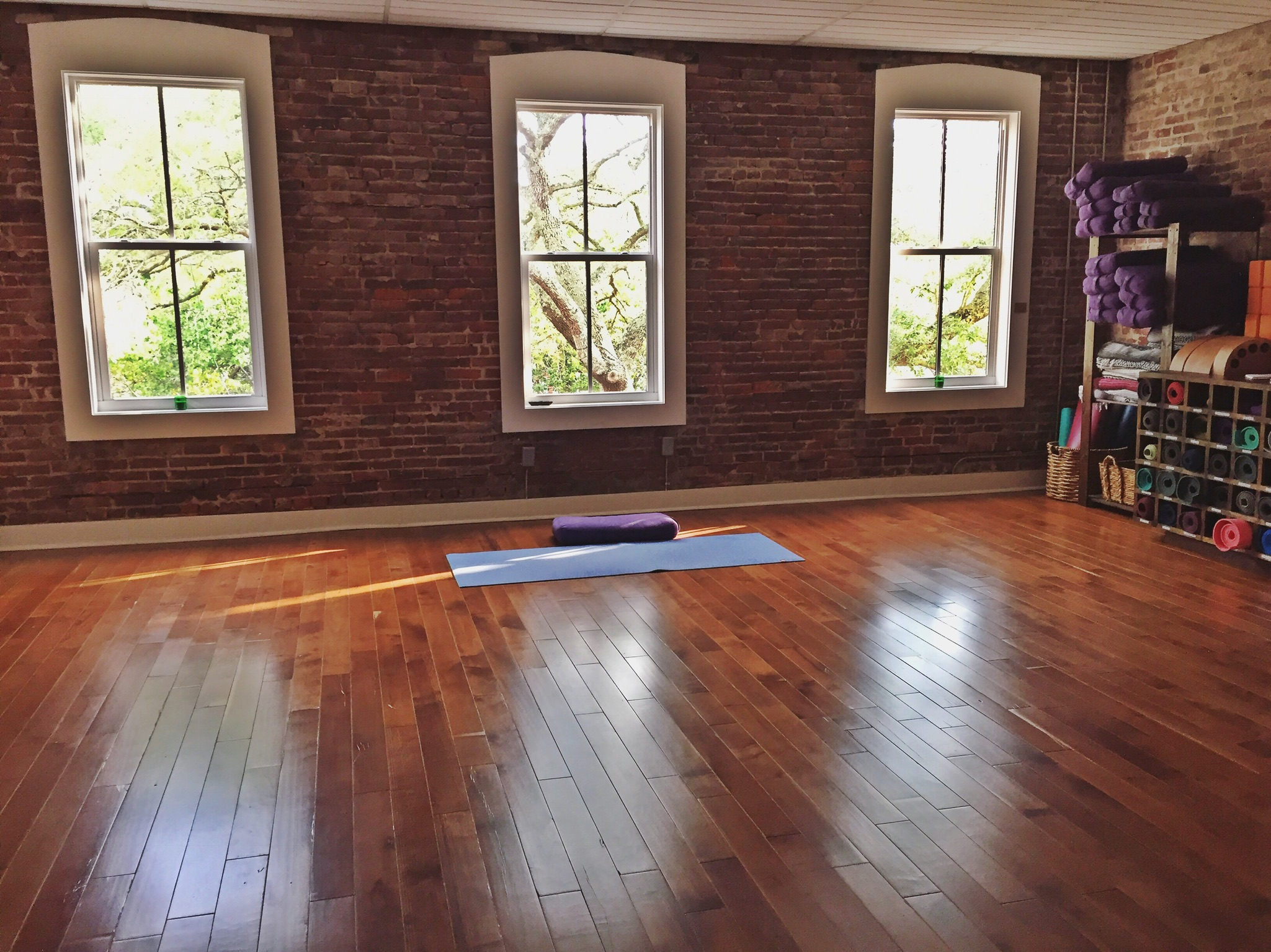 Peaceful Sunday morning. Come enjoy and share this space with Meghan (May)! Your body's movements are invited to be used as medicine.
