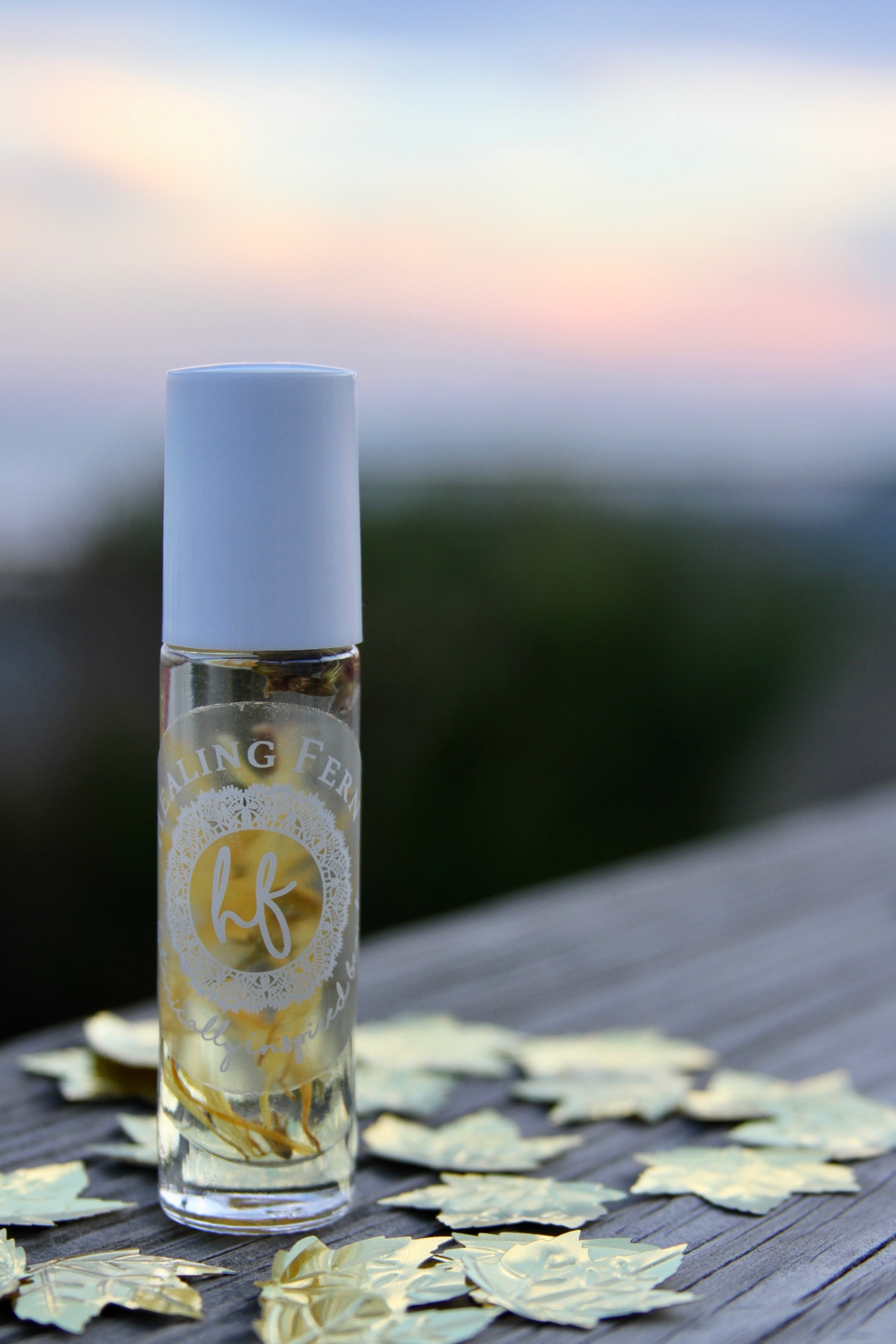 Solar infused healing oil
