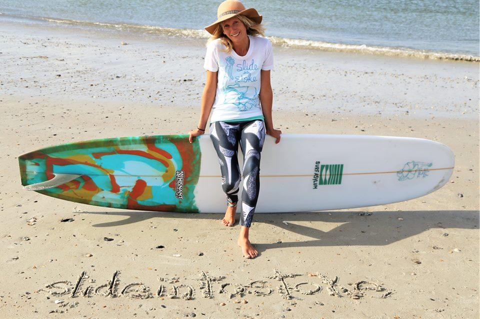 Betsy Harris - Surf Instructor / Avid Artist / Co-Owner Surf Asylum