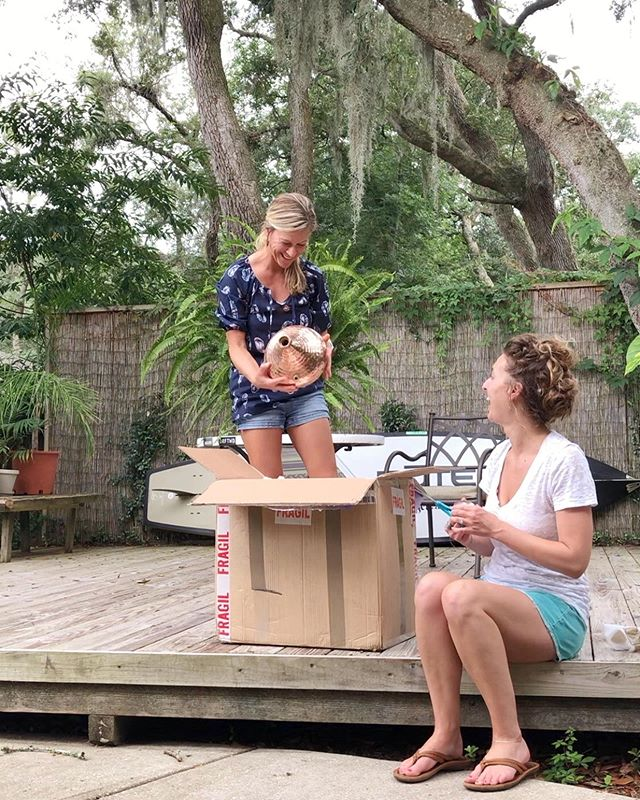 "Welcome to Healing Fern, we've unfurled into a beautiful business! Keep reading to get a glimpse into our journey and new blog post💚🌿✨⠀⠀⠀⠀⠀⠀⠀⠀⠀ ⠀⠀⠀⠀⠀⠀⠀⠀⠀ ⠀⠀⠀⠀⠀⠀⠀⠀⠀ ⠀ Healing Fern was founded in 2014 on Amelia Island by Yoga instructor and aspiring herbalist, Meghan Norman. Fresh out of Yoga Teacher Training, she began creating herbal self care products to enhance her own health, as well as the health of her friends and family. Due to increasing popularity of Meghan's Infused Herbal Oils, Sol Spray, and Hydrosols; she began selling these products online and in a few of local establishments on Amelia Island where they continue to be highly sought after. ⠀⠀⠀⠀⠀⠀⠀⠀⠀ ⠀⠀⠀⠀⠀⠀⠀⠀⠀ ⠀⠀⠀⠀⠀⠀⠀⠀⠀⠀⠀⠀⠀⠀⠀⠀⠀⠀ ⠀⠀⠀⠀⠀⠀ In 2015, Meghan met her ""sol sister"" Brandi Whitehouse and the two soon realized they shared an all encompassing passion for wellness and the healing arts. Weekends at the beach quickly turned into long conversations about leading wellness retreats where people could experience outdoor activities like Yoga, surfing, gardening, and stand up paddle boarding as well as; various herbal workshops on making tinctures, medicinal teas, aromatherapy applications and more. ⠀⠀⠀⠀⠀⠀⠀⠀⠀ ⠀⠀⠀⠀⠀⠀⠀⠀⠀ ⠀⠀⠀⠀⠀⠀⠀⠀⠀ ⠀⠀⠀⠀⠀⠀⠀⠀⠀ ⠀⠀⠀⠀⠀⠀ In 2018, Meghan and Brandi decided to team up and turn their beach conversations into a reality and the ""Sol Sessions"" were born. ☀️The first ""Sol Sessions"" retreat will be hosted in Rincón, Puerto Rico in March of 2020. It is a 5 night, 6 day, all inclusive women's retreat that is focused on Yoga, surfing, and herbal workshops. All levels of Yoga and surfing are welcome! 🌿👉🏼Link in BIO!👈🏼🌿 ⠀⠀⠀⠀⠀⠀⠀⠀⠀ ⠀⠀⠀⠀⠀⠀⠀⠀⠀ ⠀⠀⠀⠀⠀⠀⠀⠀⠀ ⠀⠀⠀⠀⠀⠀⠀⠀⠀ ⠀⠀⠀⠀⠀⠀⠀⠀⠀ ⠀⠀⠀⠀⠀⠀⠀⠀⠀ ⠀ Pictured above is us welcoming our new 20L copper goddess to the HF family🤗⚗️✨Thanks @iberiancoppers she's gorgeous💛"