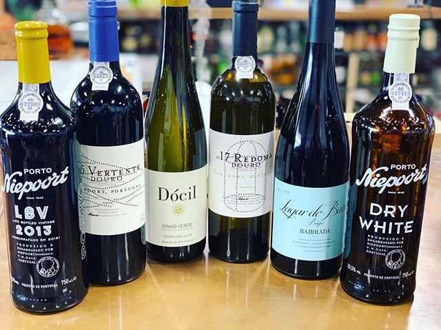 Portugal Wine Month at @highcottonwarehouse  Get 3 for $60 or all 6 for jutst $120! What a sweet deal to taste a wide variety of what @niepoortvinhos can do!