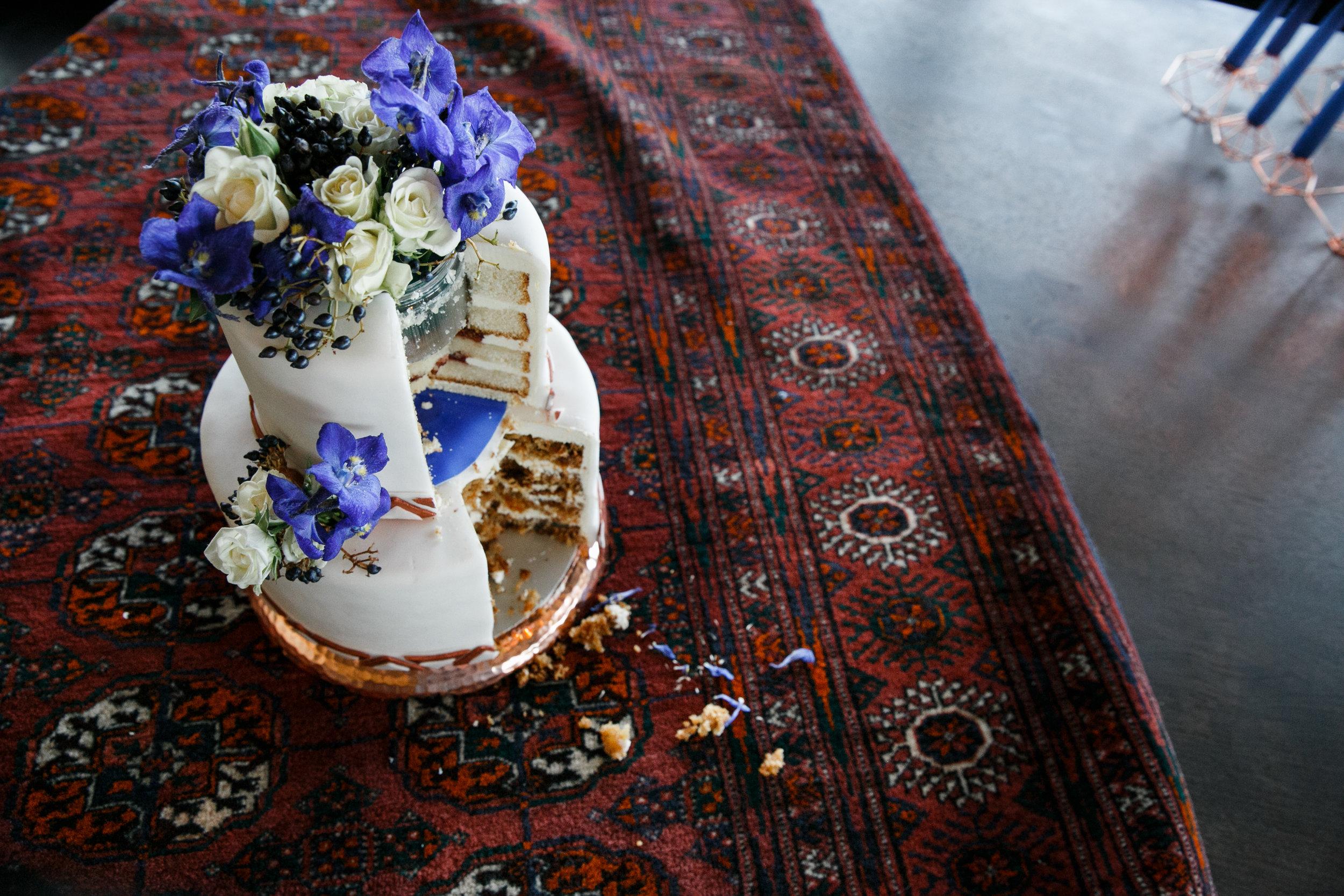 Hochzeitstorte vom Shooting