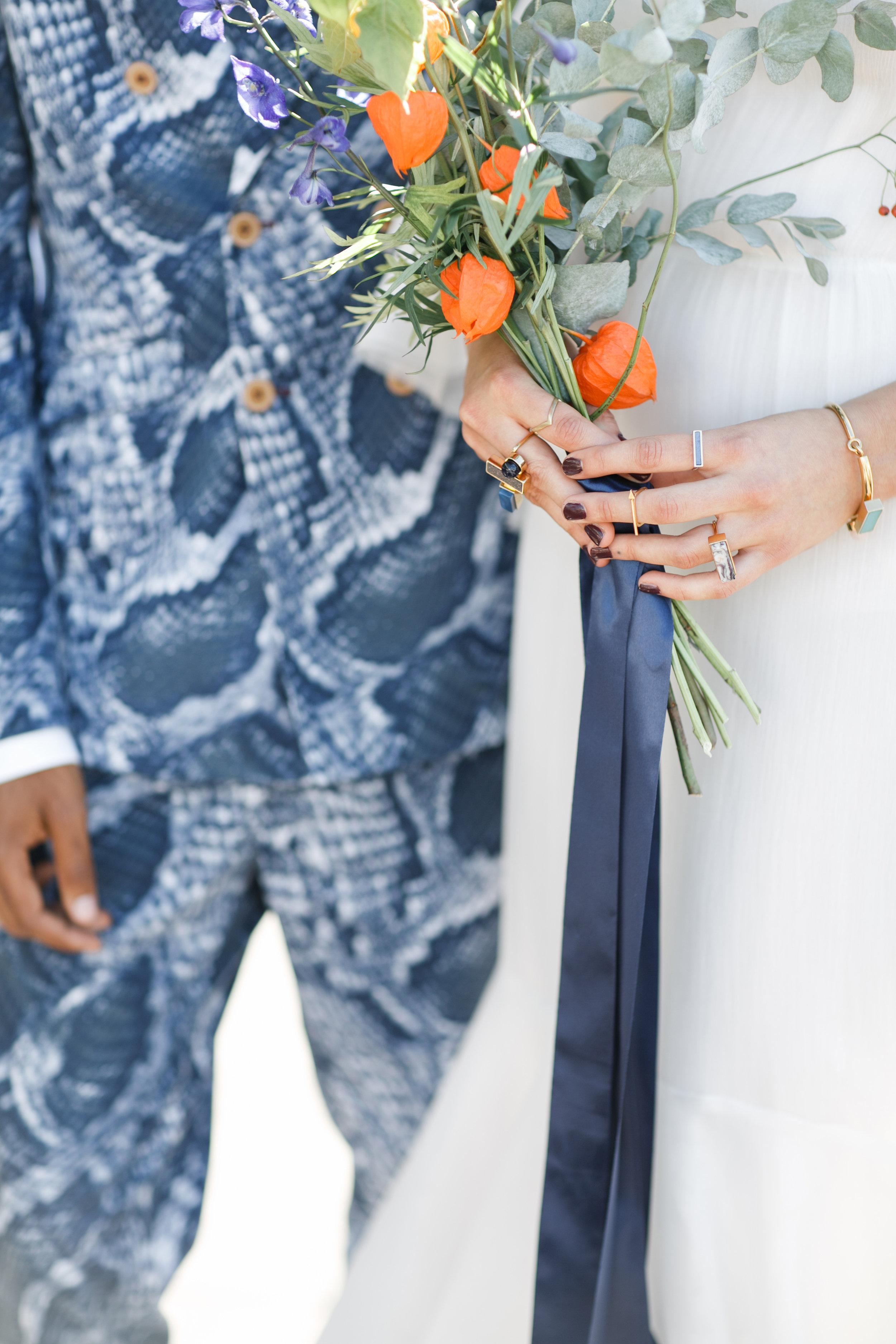 Funky Rooftop Wedding