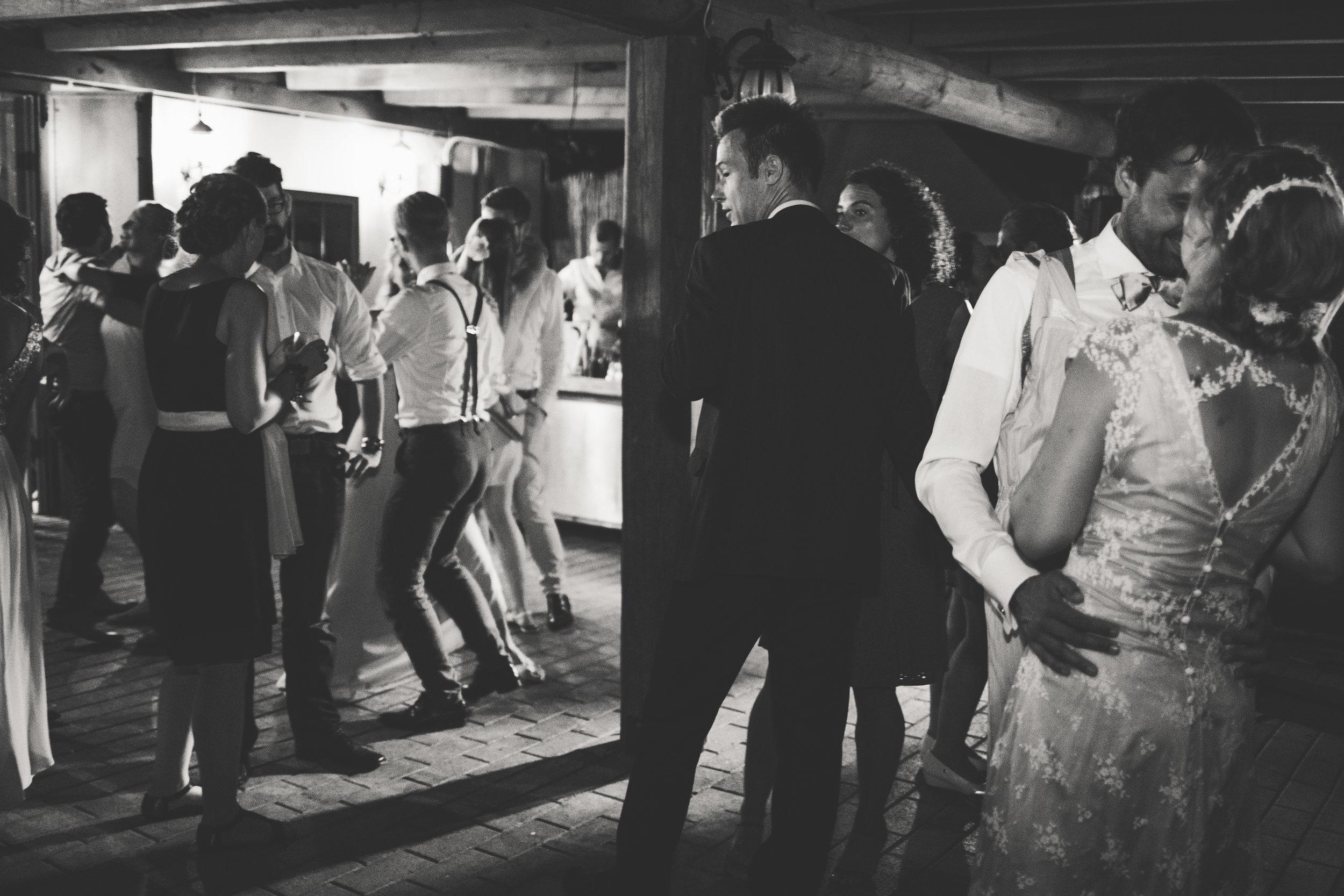 Hochzeitsparty in der Toskana