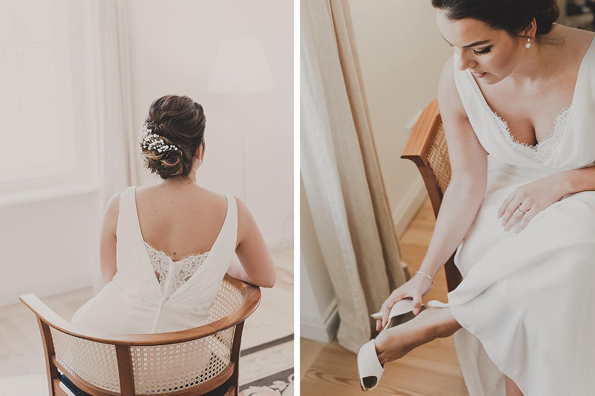 Vorbereitung der Braut