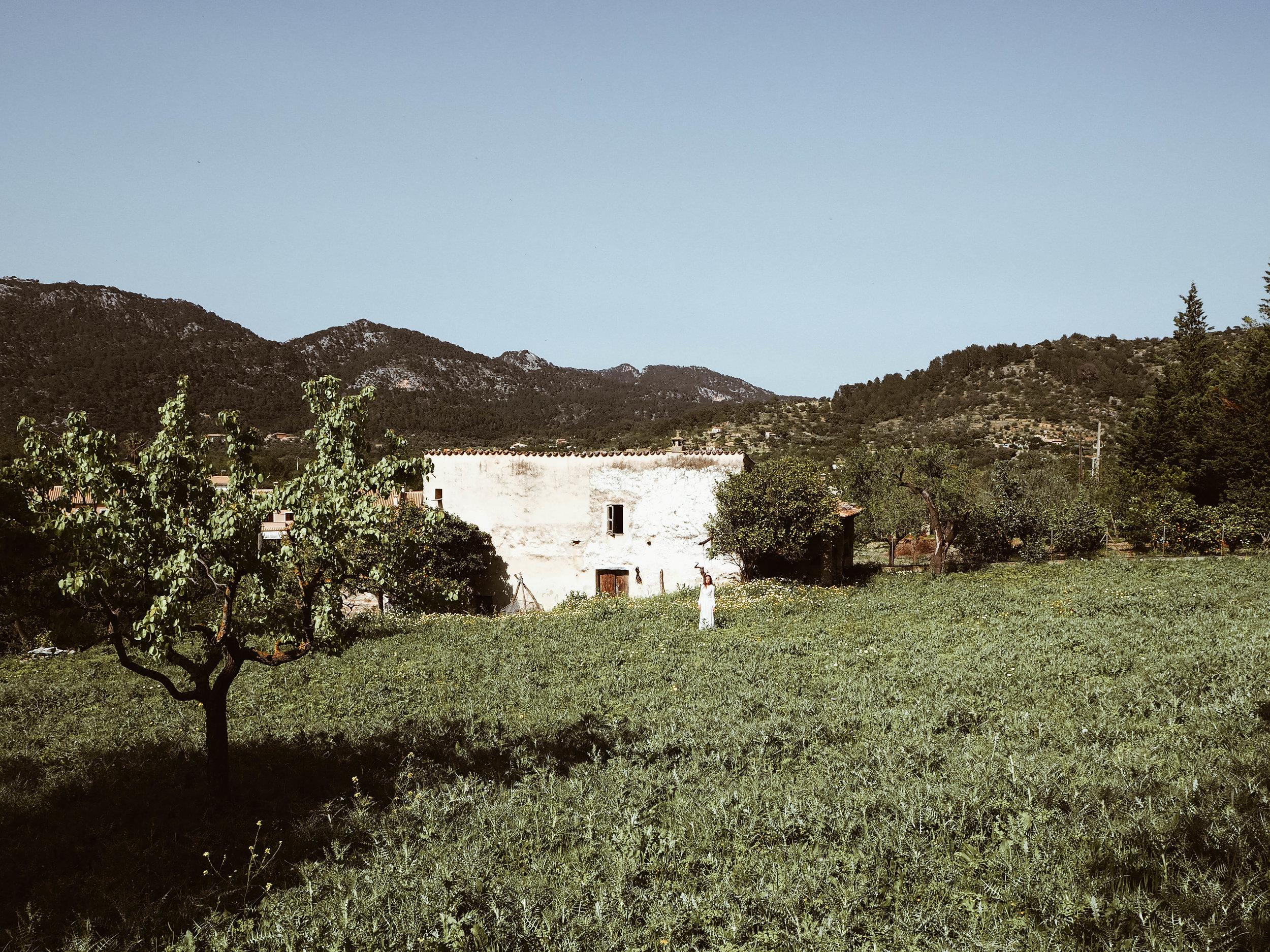 Mallorca Berge und Finca