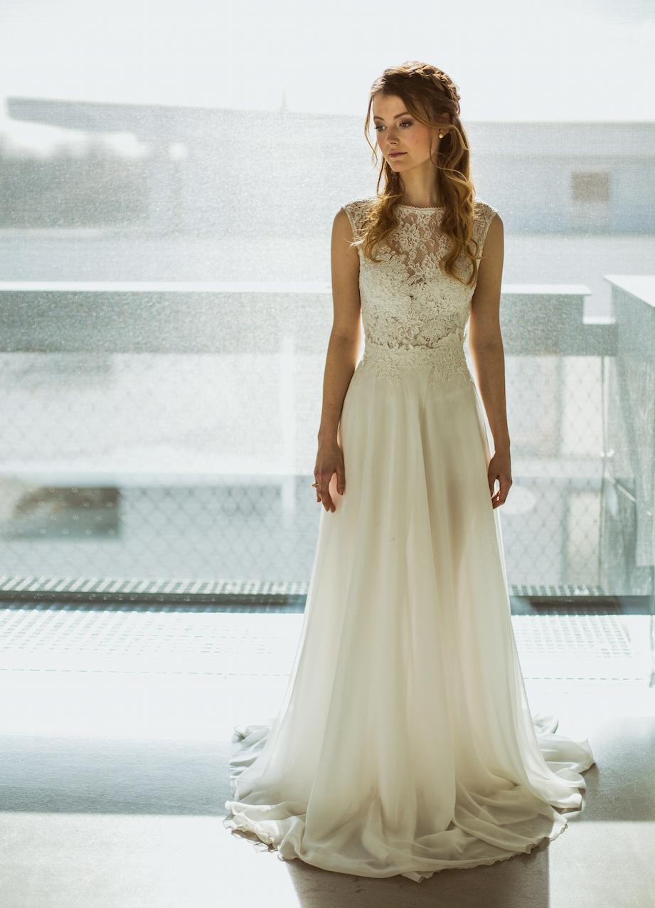 Braut im Traumkleid