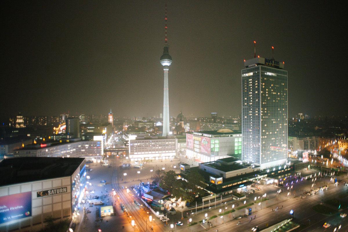 Location über den Dächern von Berlin