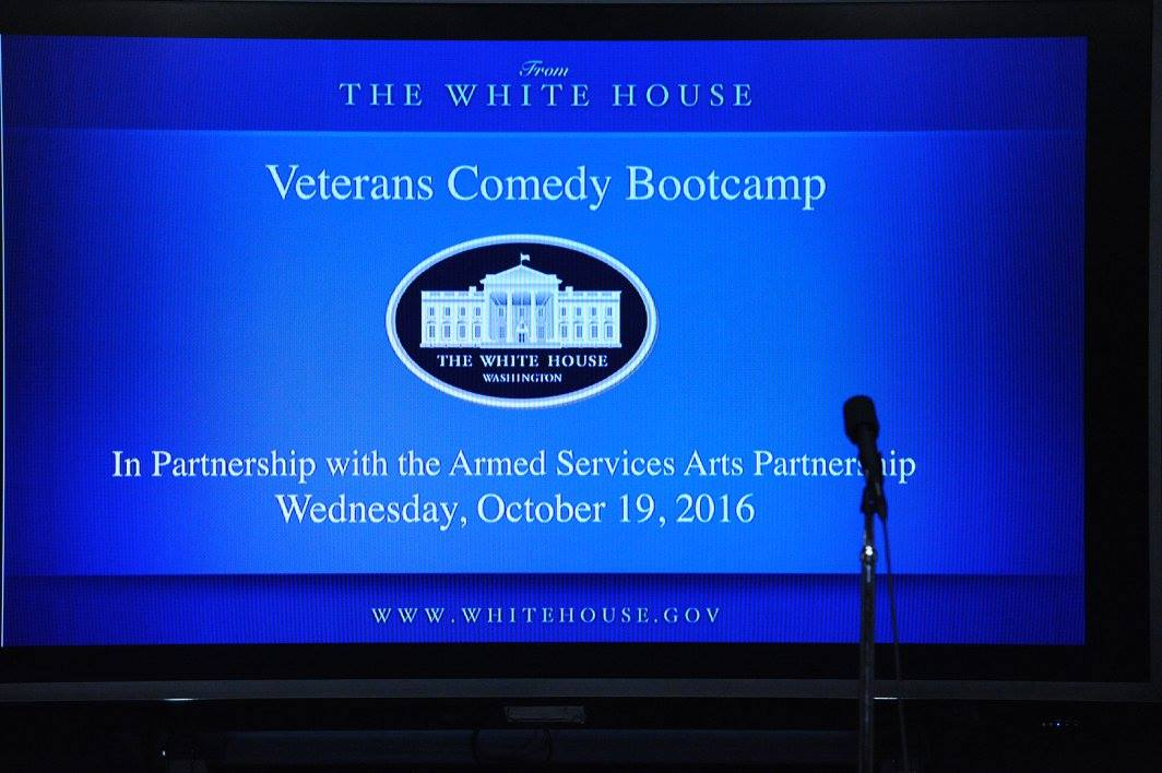 Copy of Veteran Comedy Show @The White House