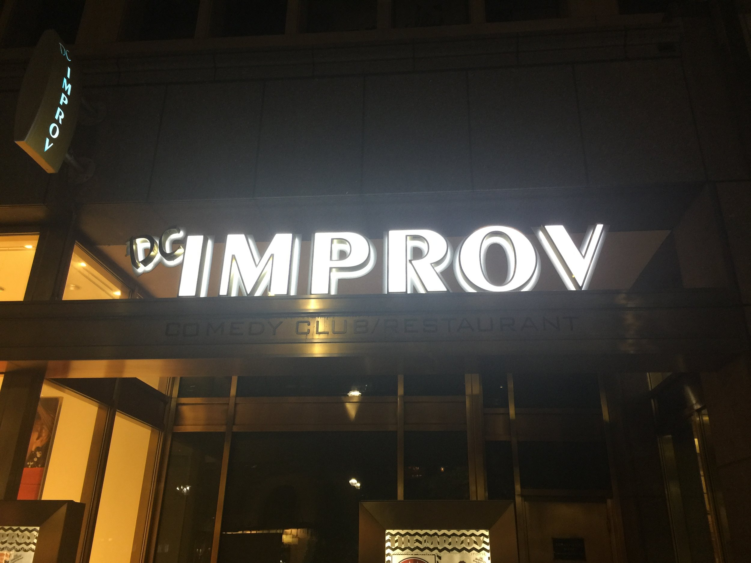 Copy of Comedy Bootcamp Grad Show @Washington D.C. Improv