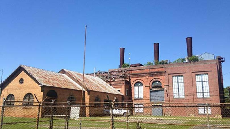 Old Kinston Power Plant located in the Mitchelltown neighborhood