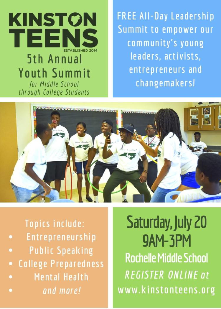 Kinston Teens Youth Summit 2019 Flyer.jpg