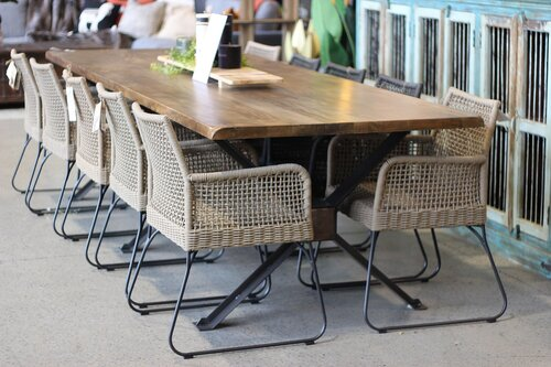 Trestle Dining Table Loft Furniture New Zealand