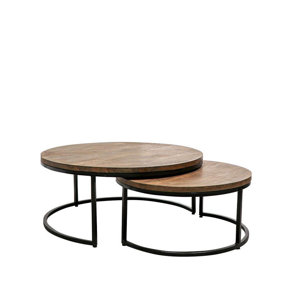 Chandri Round Nesting Coffee Tables Loft Furniture New Zealand