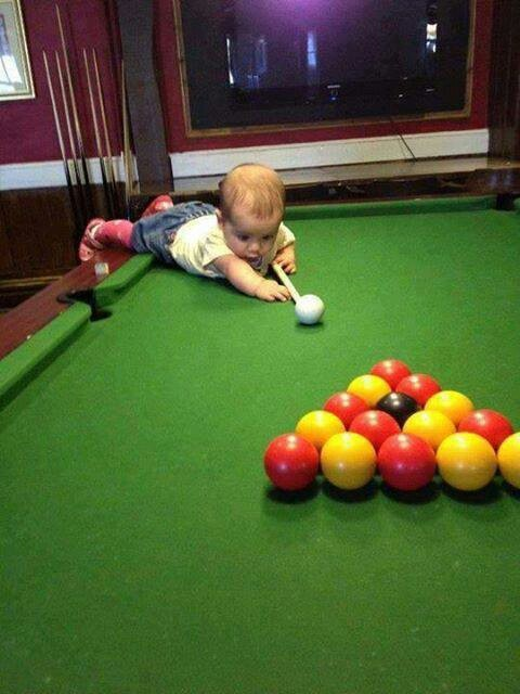 baby-playing-pool