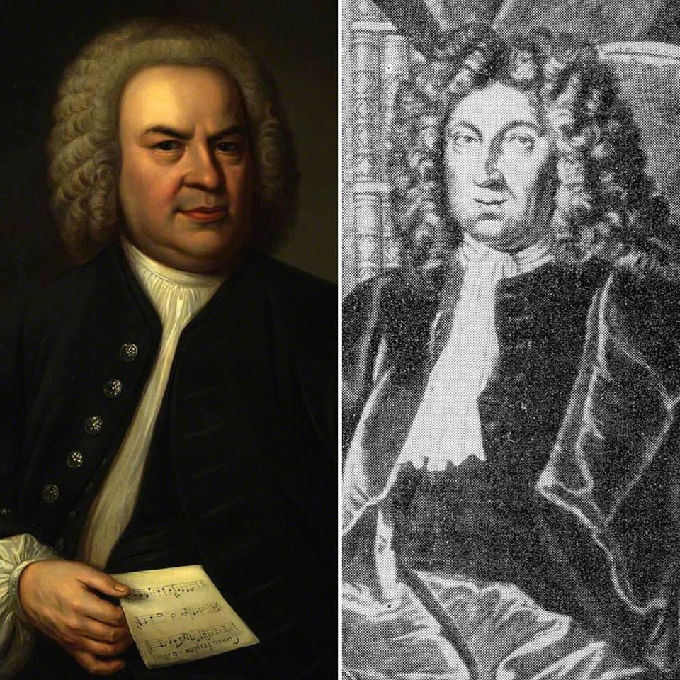 Johann Sebastian Bach (1685-1750) and Johann Heinrich Ernesti (1652-1729)