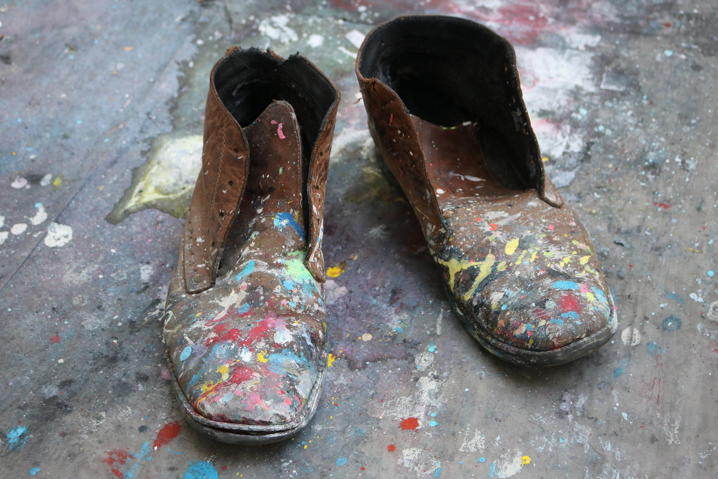Studio boots ( many studio miles covered).