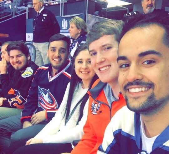 Columbus, OH - Those who went to Columbus in the Spring of 2017 got a behind-the-scenes tour of Nationwide Arena and met with members of the marketing and ticket sales team for the Columbus Blue Jackets. After the meeting, members got lower-bowl tickets to a sold-out game against the Philadelphia Flyers. The group was one of SMA's largest, bringing 20 members.