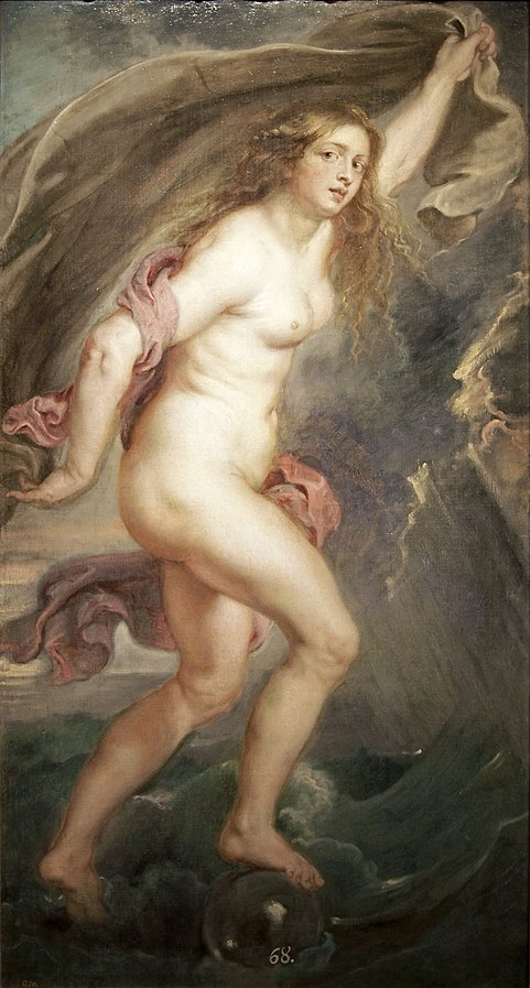 ''La Fortuna'' by Pierre Paul Rubens