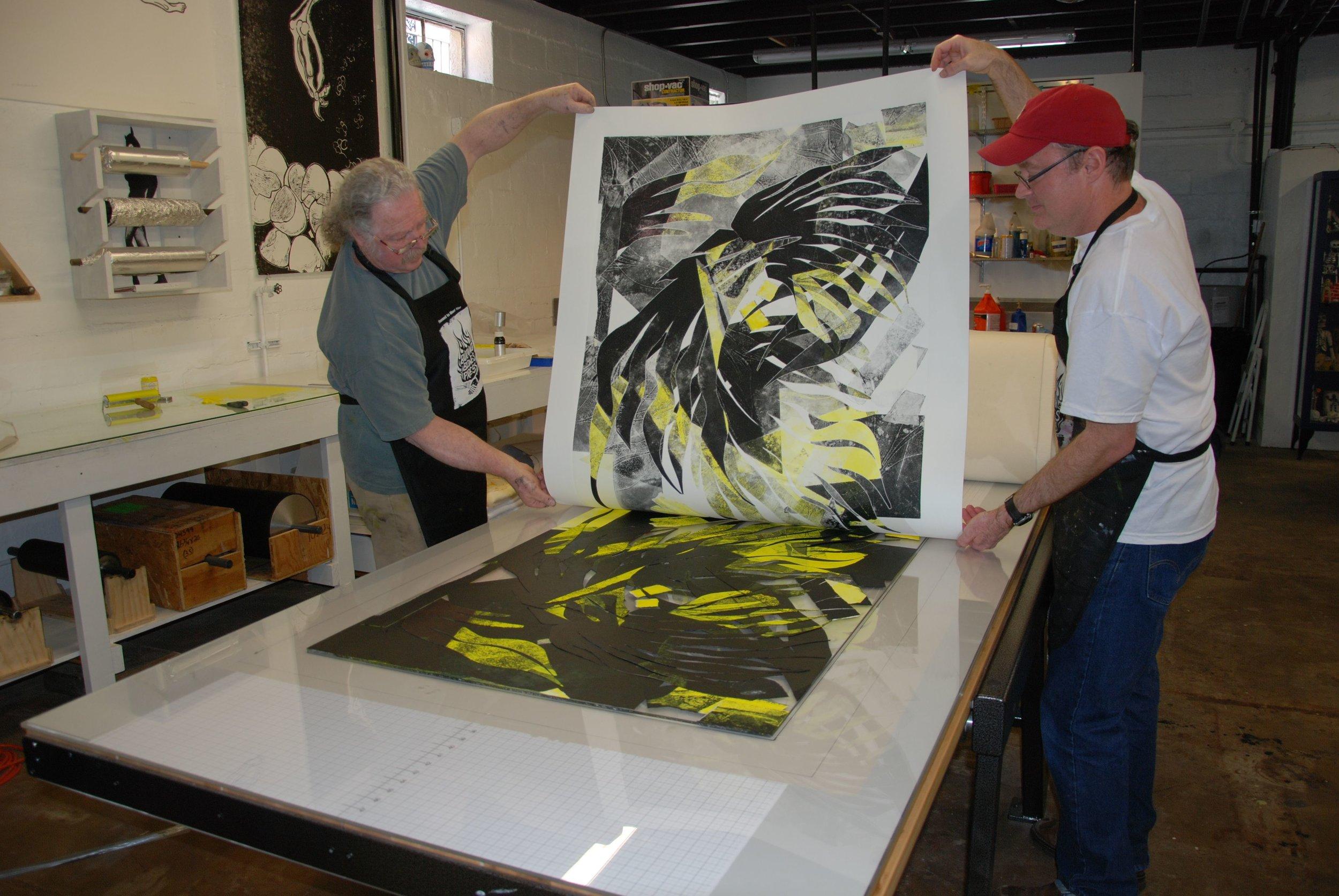 BBP Master Printer; Patrick Masterson editions with Albert Paley.