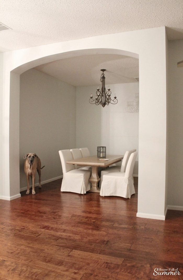 Why I Love My White Slipcovered Dining Chairs House Full